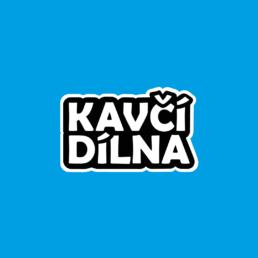Typografické logo malovani na oblicej Kavčí Dílna