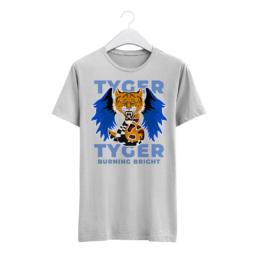 Grafika na triko - chymera a tygr